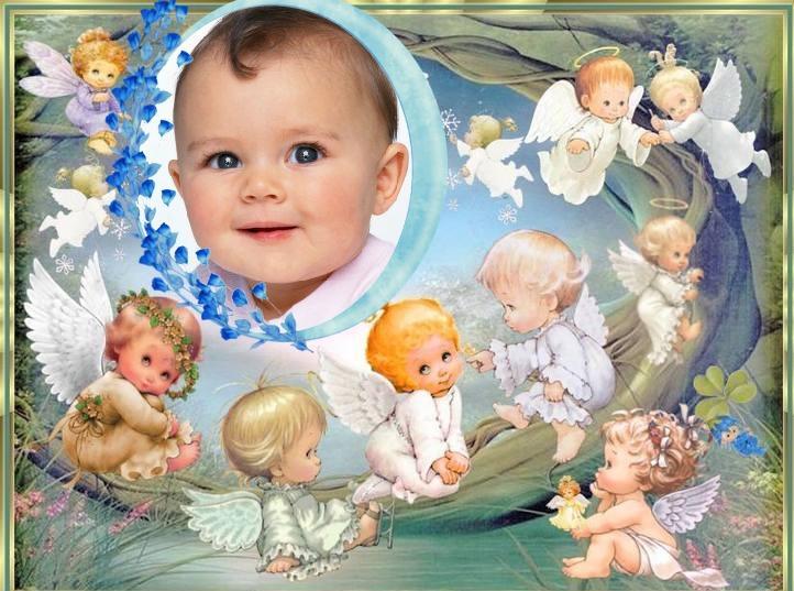 Fotomontajes cristianos de bautizo gratis - Imagui