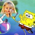 Fotomontaje para niños de Bob Esponja