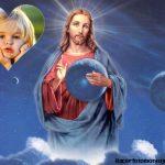 Fotomontaje de Jesús con mi foto
