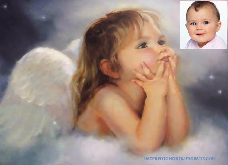 Imagenes de angeles de bebés - Imagui