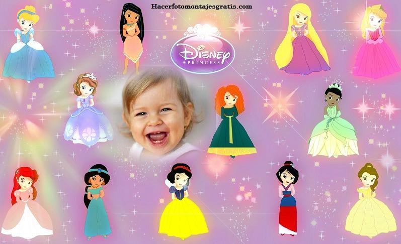Fotomontajes con Princesas Disney   Hacer Fotomontajes Gratis - Part 2