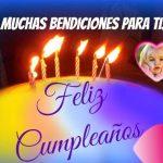 """Fotomontaje de """"Feliz Cumpleaños"""" con frase"""
