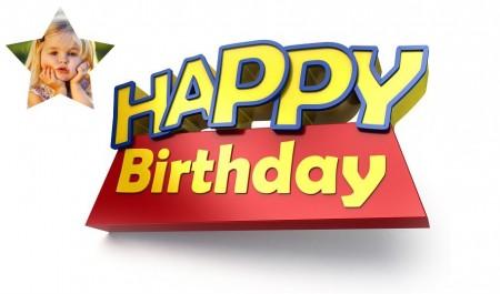 Fotomontaje para Feliz Cumpleaños Toy Story