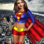 Fotomontaje de Mujer Maravilla