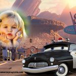 Fotomontaje de Sheriff de Cars