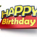 Fotomontaje de Feliz Cumpleaños con logo de Toy Story