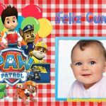 Fotomontajes de Paw Patrol Feliz Cumpleaños