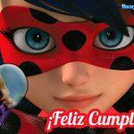 Fotomontaje de Feliz Cumpleaños Las Aventuras de Ladybug