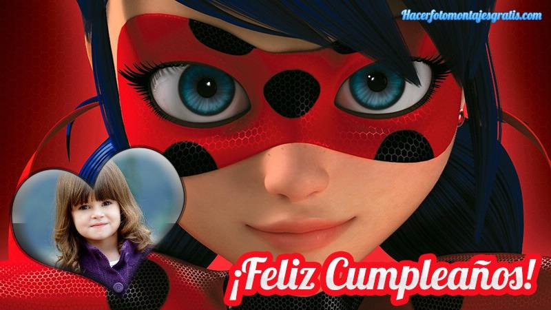 Fotomontajes de Miraculous Ladybug cumpleaños - feliz cumpleaños Ladybug imagenes